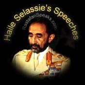 Haile Selassie Speeches