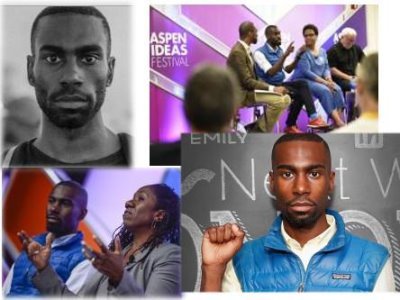 Made Man in a Blue Vest: Deray McKesson
