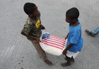 Aid to Haiti