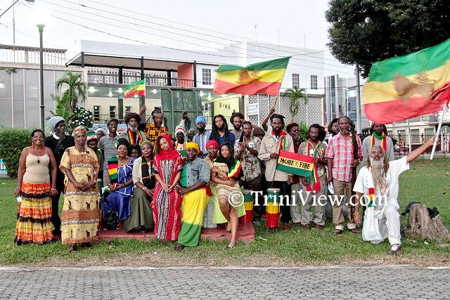 Members of the All Mansions of Rastafari