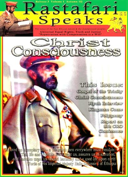 Rastafari Speaks Christ Consciousness