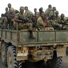 US backed Ethiopian forces