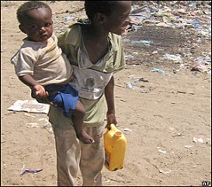 Aid agencies are having difficulties delivering food because of insecurity.